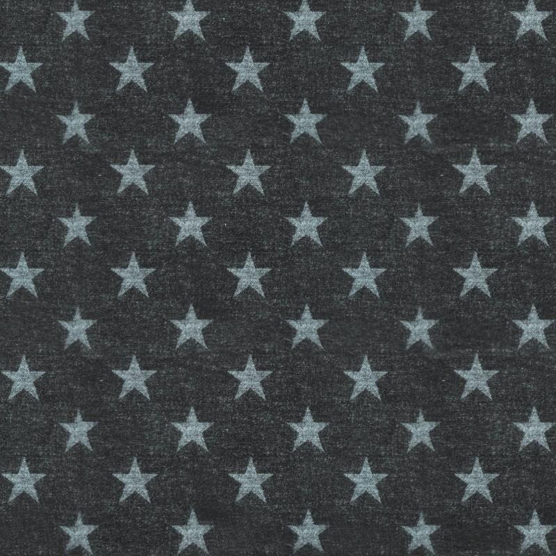 Микровелюр черный Изумрудный Liverpool star col.07