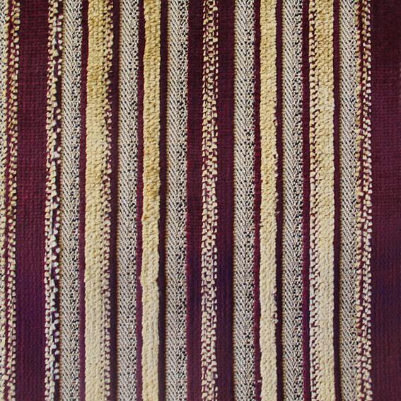 Велюр  Коричневый Желтый Bellagio stripe col.1164