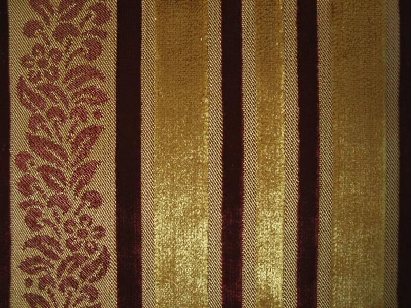 Велюр  Желтый Verona stripe col.3005
