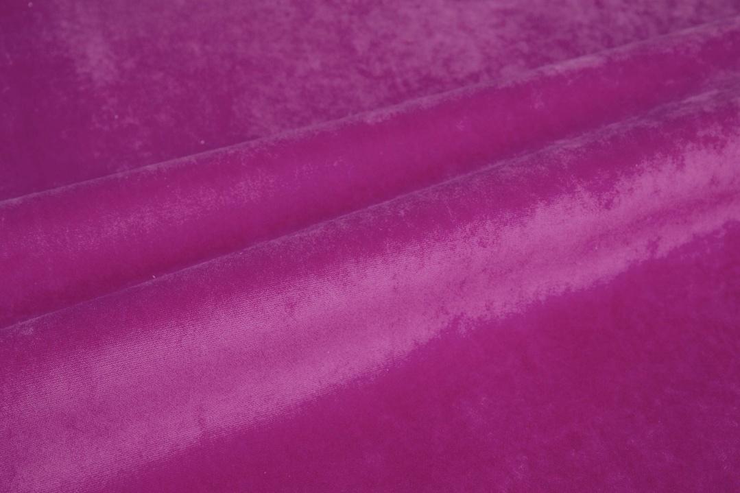 Микровелюр Розовый Aquarelle col.13